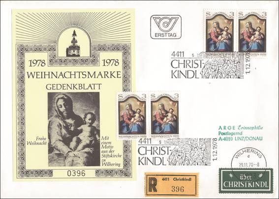 Bild zum Artikel Christkindl Brief Eingeschrieben