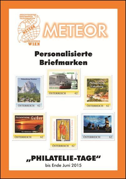 Bild zum Artikel Katalog personalisierte Marken Philatelie-Tage