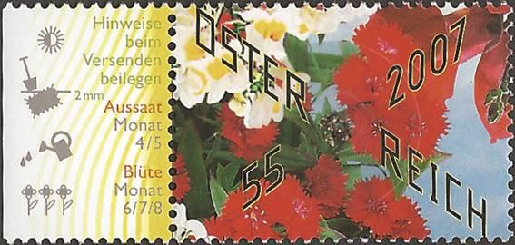 Bild zum Artikel Marke Blumen von der Post NICHT VERAUSGABT